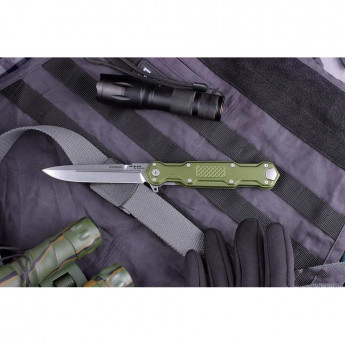 Нож MR BLADE GREEN COSMO SATIN