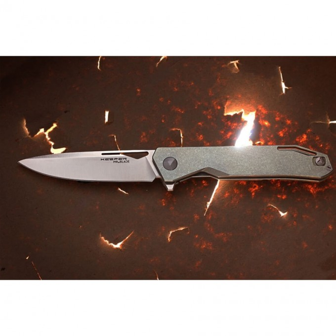 Нож MR BLADE KEEPER M390 TITANIUM