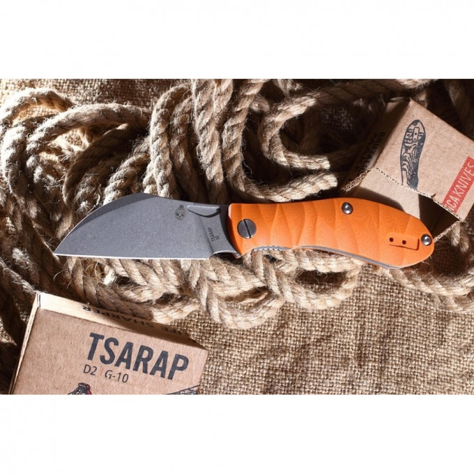 Нож MR BLADE Tsarap Folder Orange